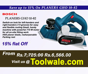 Brand New BOSCH PLANERS GHO 10-82