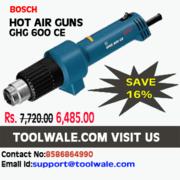 Brand New BOSCH HOT AIR GUNS GHG 600 CE