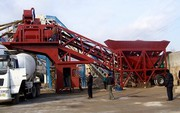 Mobile concrete plant «Changli» YHZS 90 (90 m3 / hour)