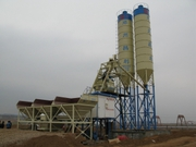 Stationary concrete plant HZS 50 (50 m3 / h)