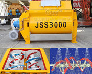 Concrete mixer JSS «Changli» spiral Shaft 2.